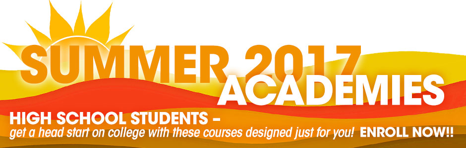Summer 2017 Academies - Enroll Now