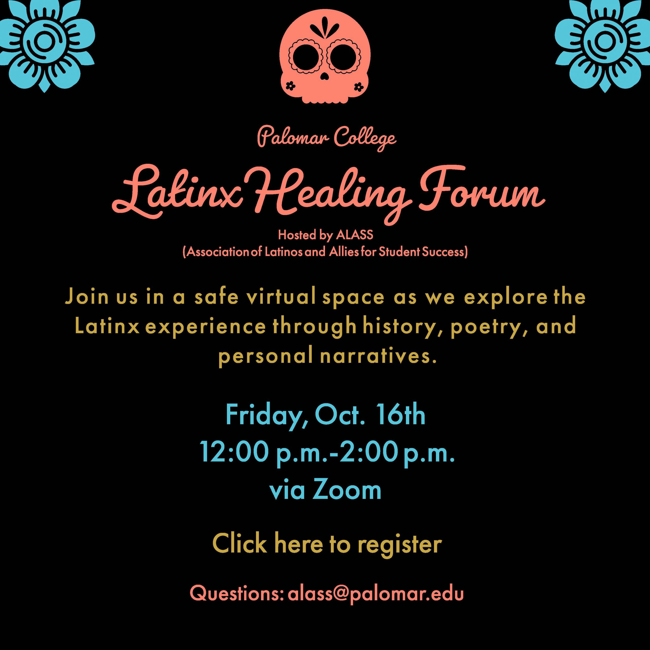 ALASS Latinx Healing Forum