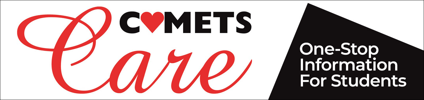Comets care. One-stop for student information
