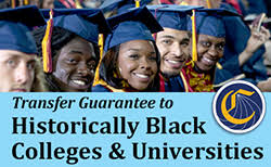 Transfer gaurantee to historically black colleges & universities