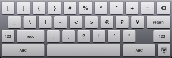 symbols 2 keyboard layout