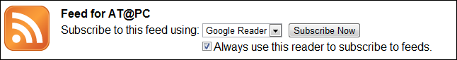 Chrome Reader Choice