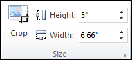 Video Player Height Width