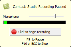 Click To Begin Recording