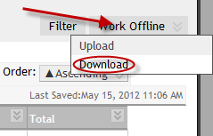 Work Offline | Download