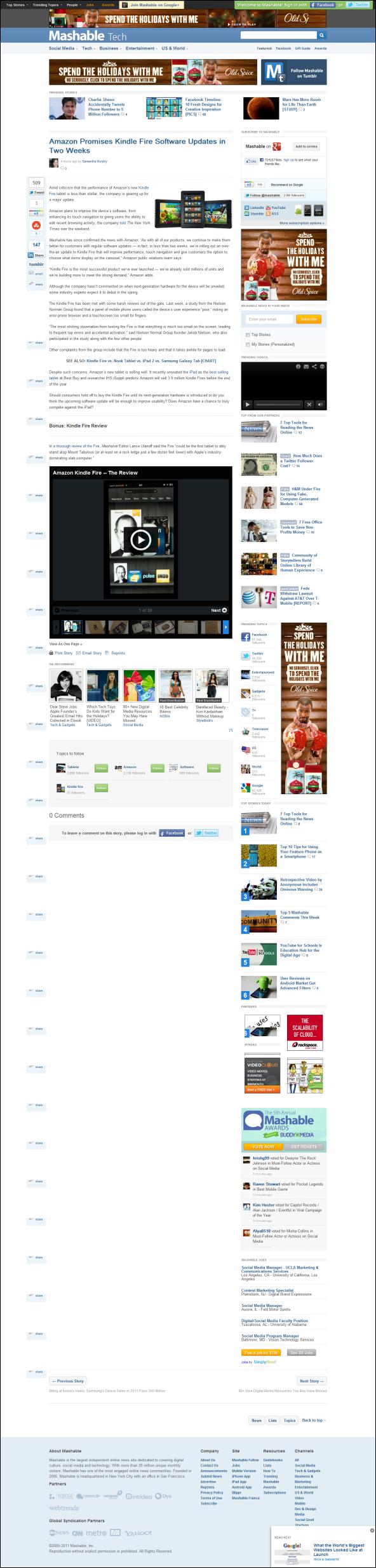 mashable page