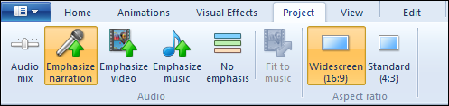 audio emphasis tools