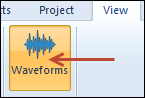 toggle waveform