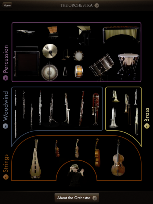 Instruments & Sections
