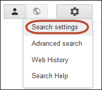 SearchSettings