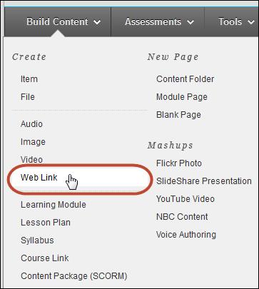 Web Link Tool