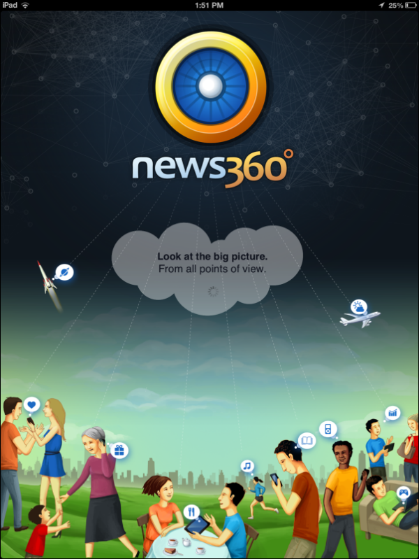 News360 Splash Screen