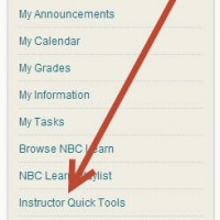 First Look at the Blackboard Instructor Quick Tools