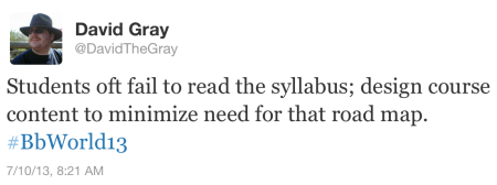 don't read the syllabus Tweet