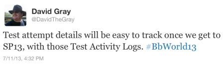Test Activity Logs Tweet
