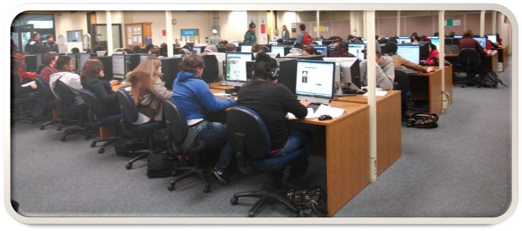 View of the LL-103 computer lab