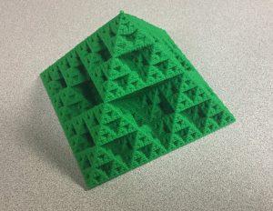fractal pyramid image