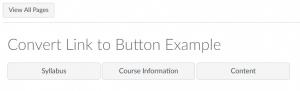shows buttons labeled Syllabus, Course Information, and Content all on the same line