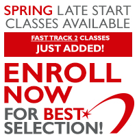 Late Start and Fast Track 2 classes now available. Palomar Powered Fast Track.