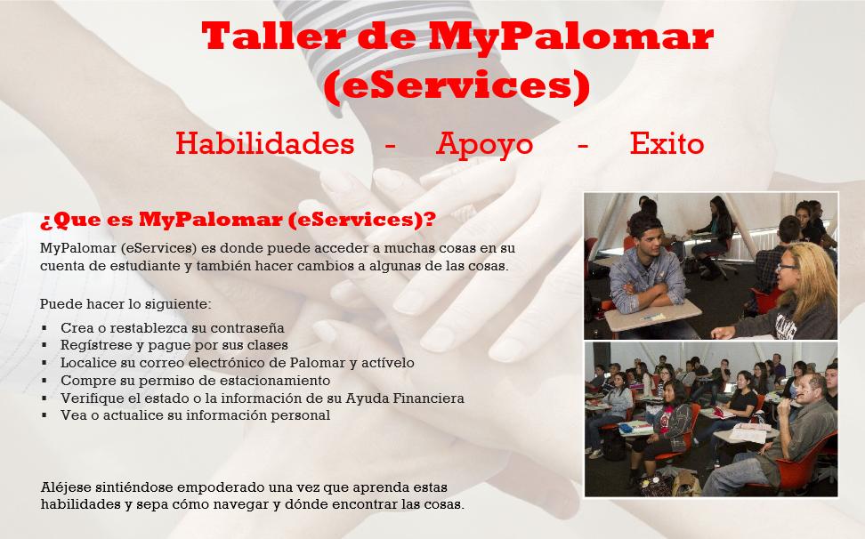 MyPalomar Taller