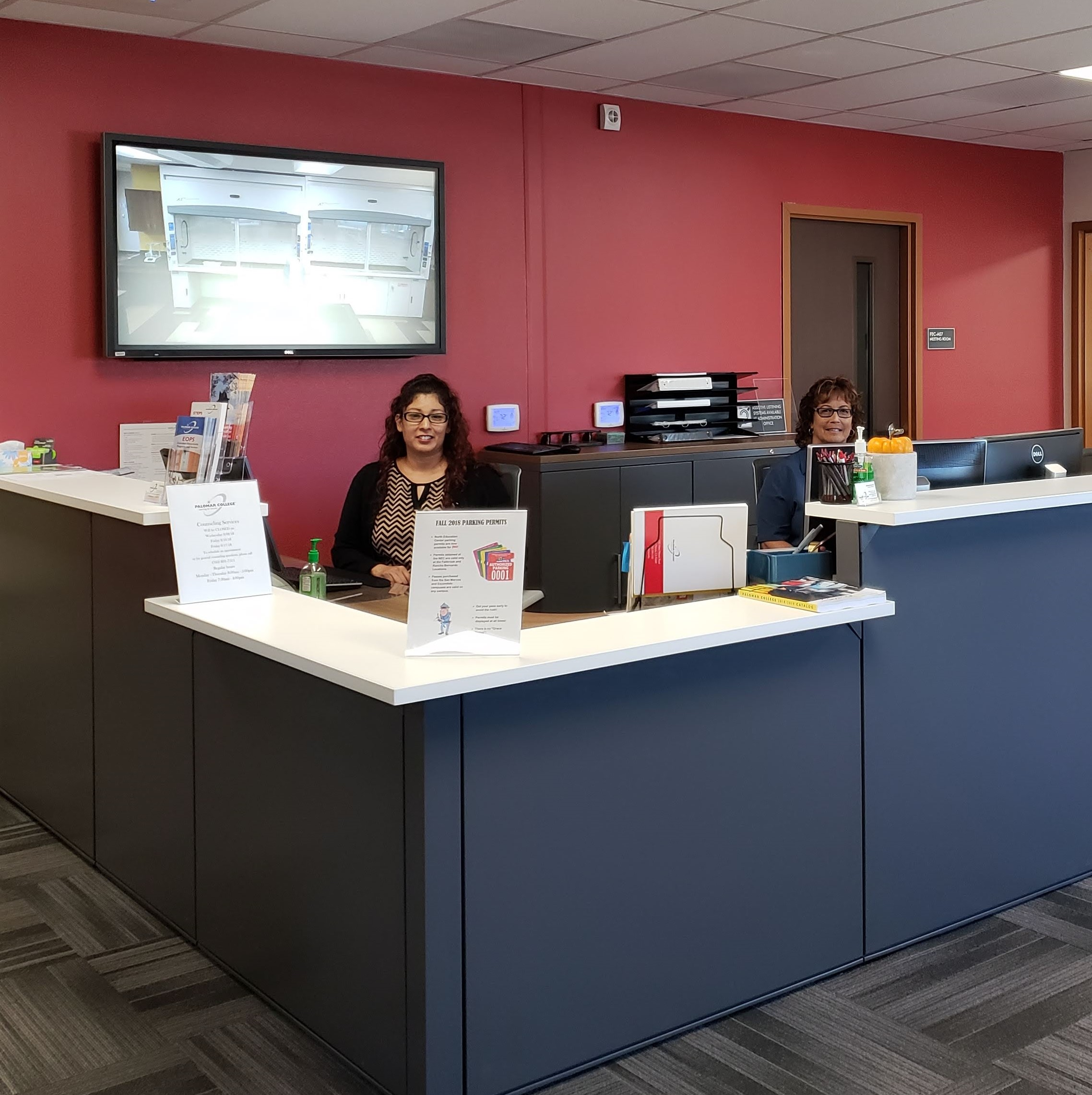 Welcome to Enrollment Services where you can get assistance with Admissions, Financial Aid, and Counseling services!