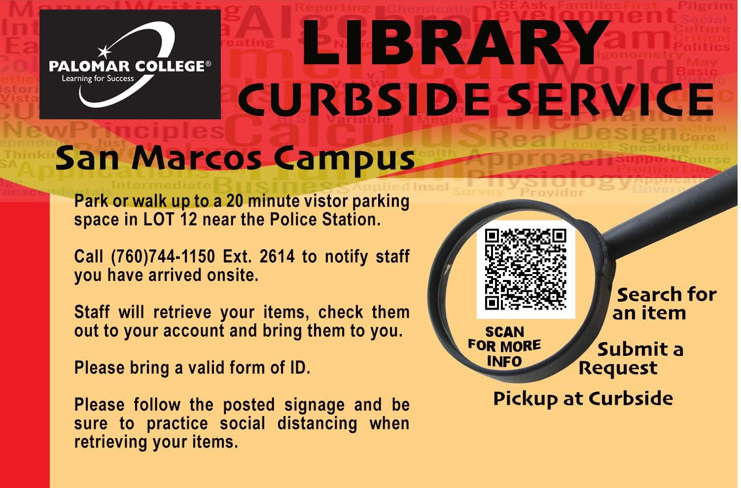 San Marcos Library Curbside Services