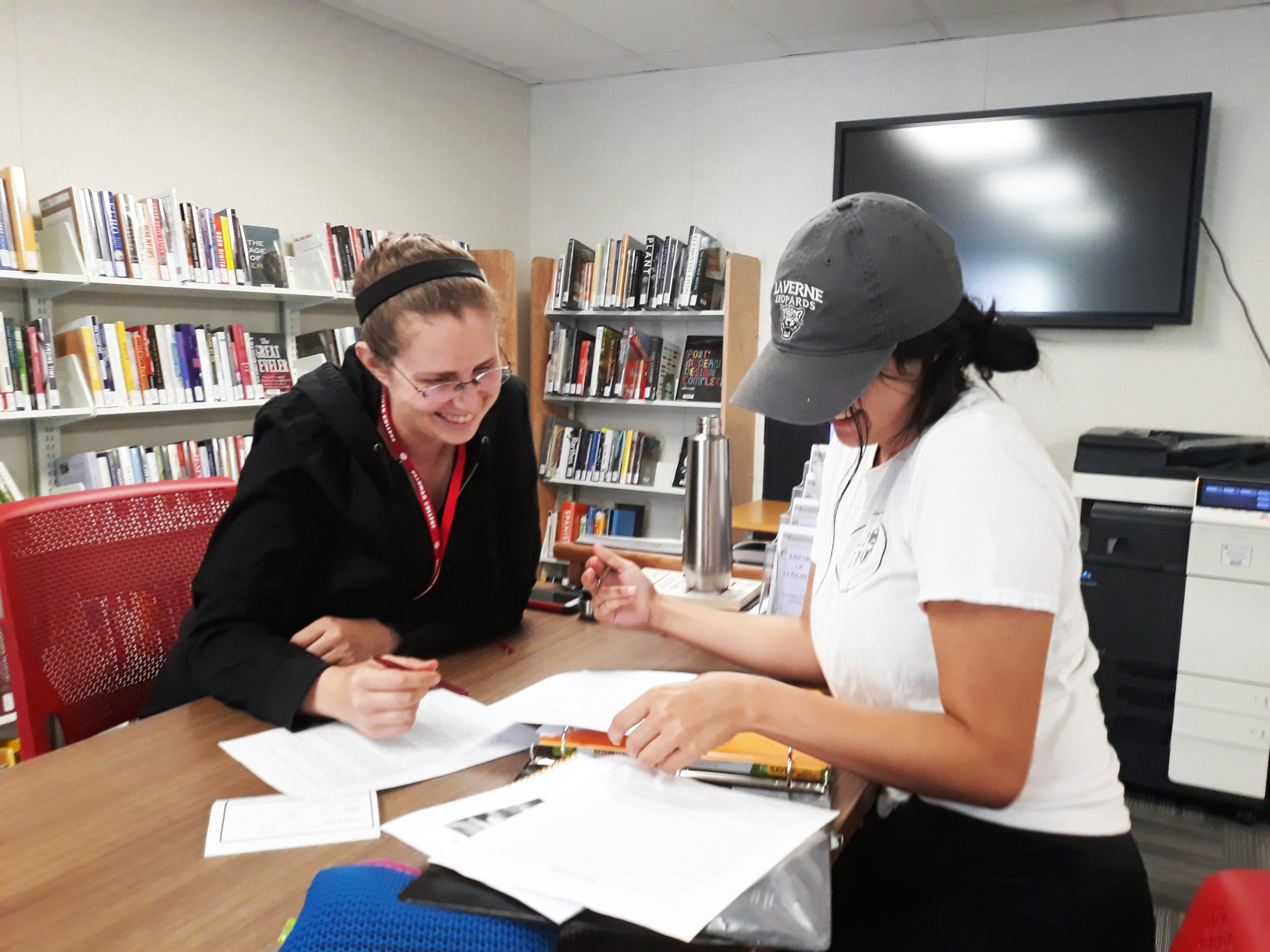 Fallbrook Education Center Teaching & Learning Center study session