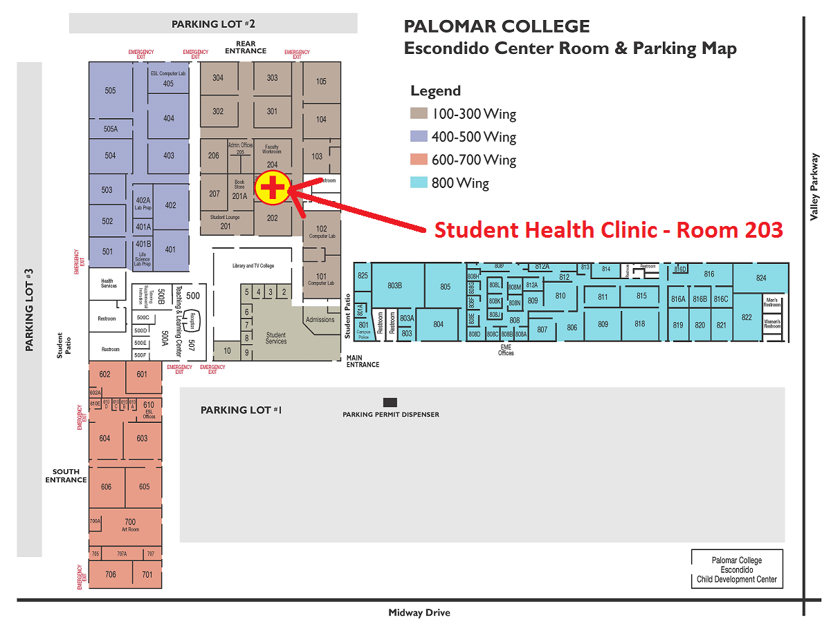 Contact Information – Student Health Centers