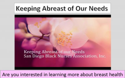 Breast Health Workshop flyer