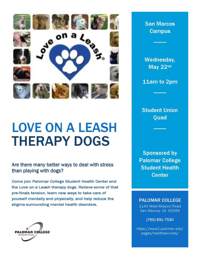 Love on a Leash flyer