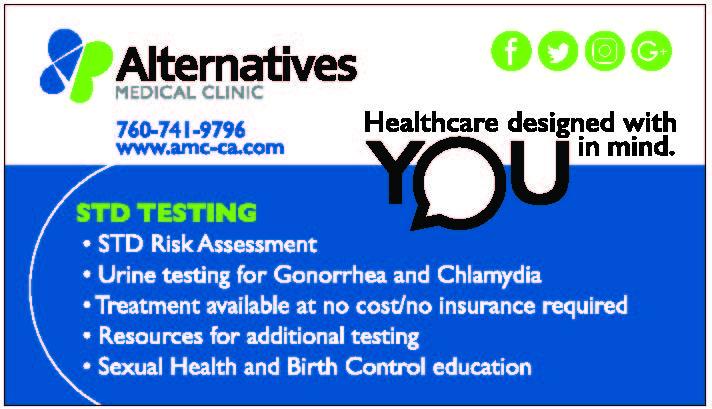 AMC STD Testing ad