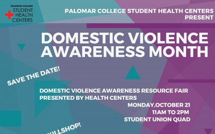 DV awareness month flyer