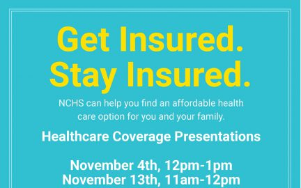 Healthcare Coverage flyer