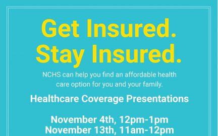 Healthcare Coverage flyer