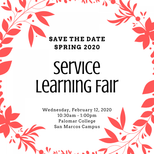 Service Learning Fair