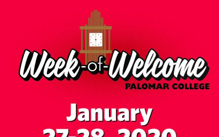 Week of Welcome flyer