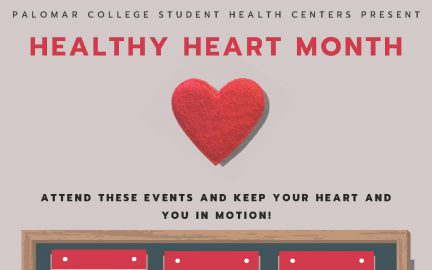 Healthy Heart month flyer