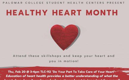 Healthy Heart Month Skillshops