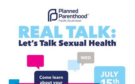 Real Talk flyer