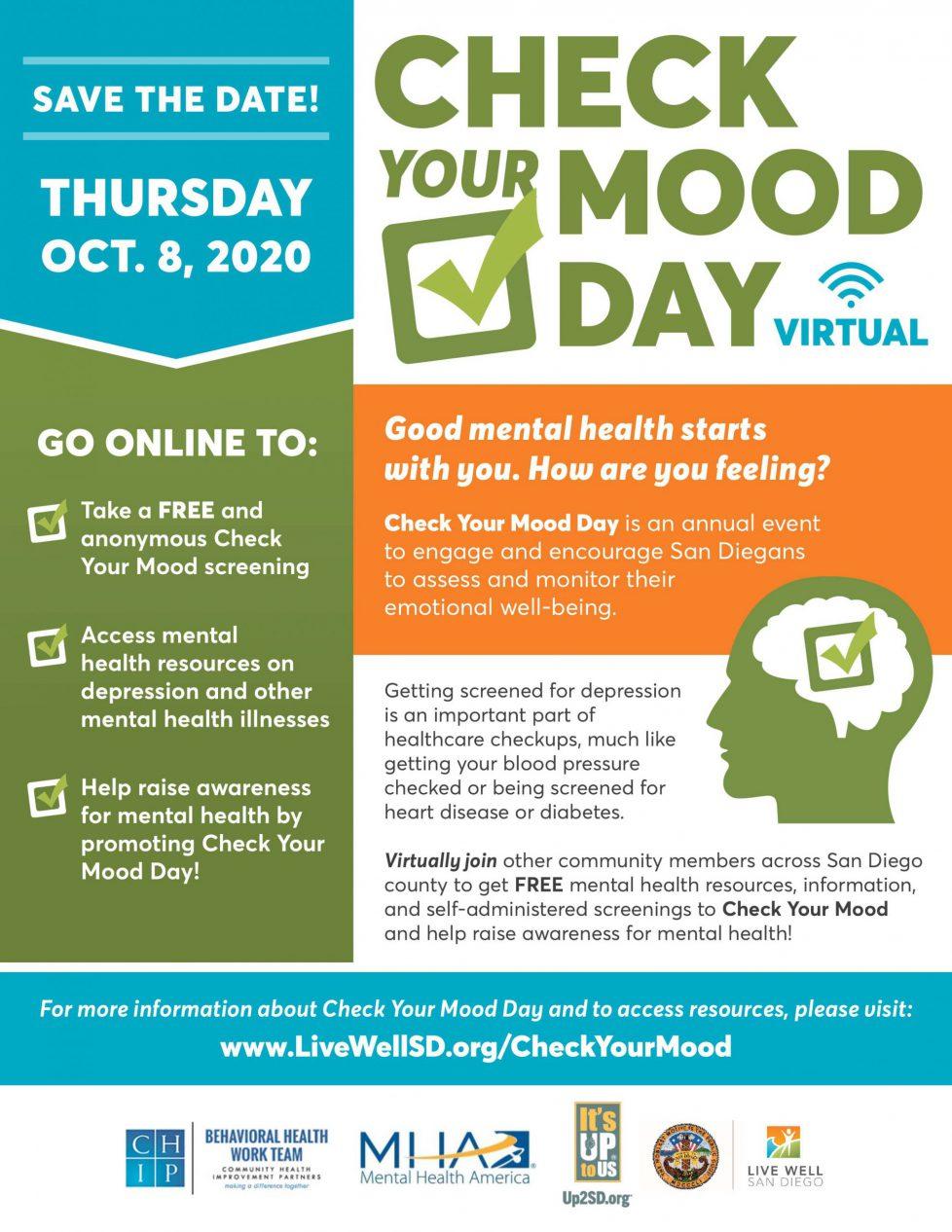 Virtual Check Your Mood Day