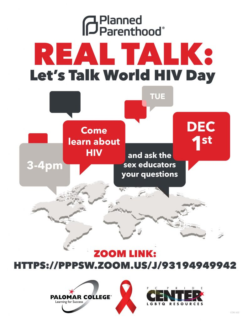 HIV Day Flyer