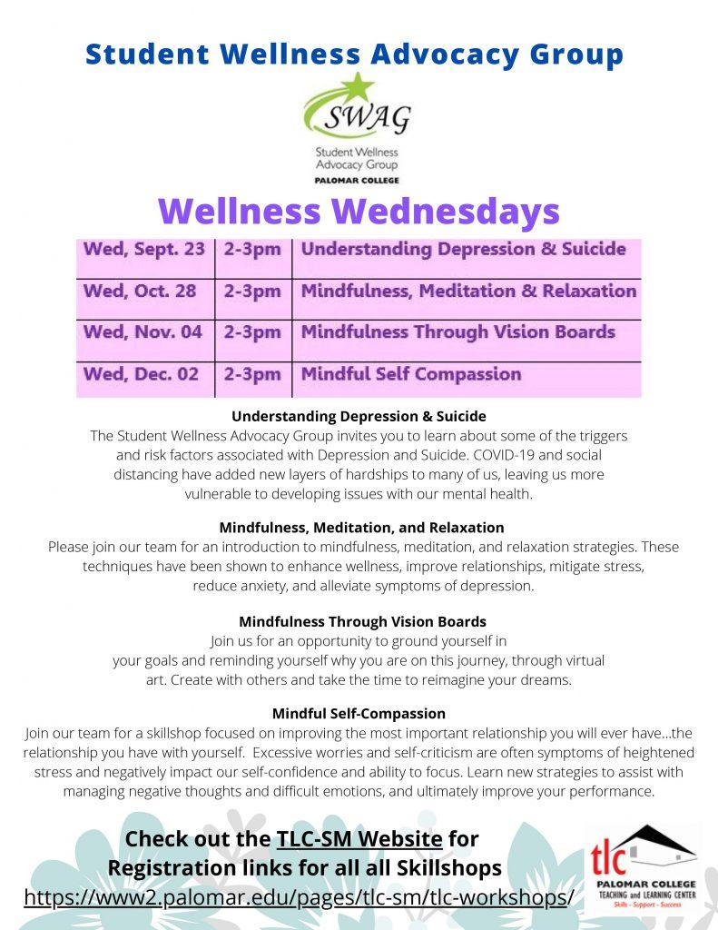 Wellness Wednesday Skillshop