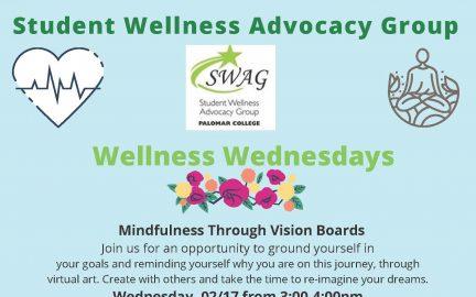 SWAG Skillshops Wellness Wednesday listings