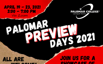 Palomar Preview Days 2021