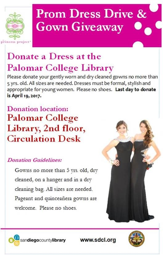 Prom Dress Drive and Gown Giveaway!
