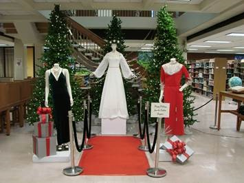 Fashion Holiday Display