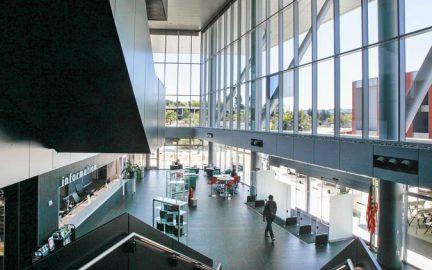 Palomar College LRC/Library Atrium