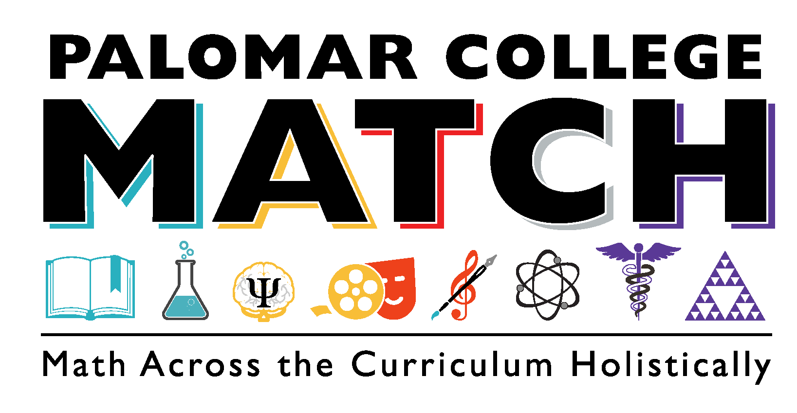 Palomar College MATCH - Math Across the Curriculum Holistically LOGO