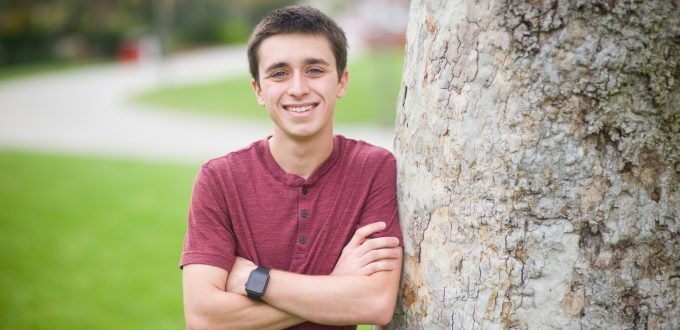 Sammy Cuomo was hired by KOCT in Oceanside after studying Digital Broadcast Arts at Palomar College.