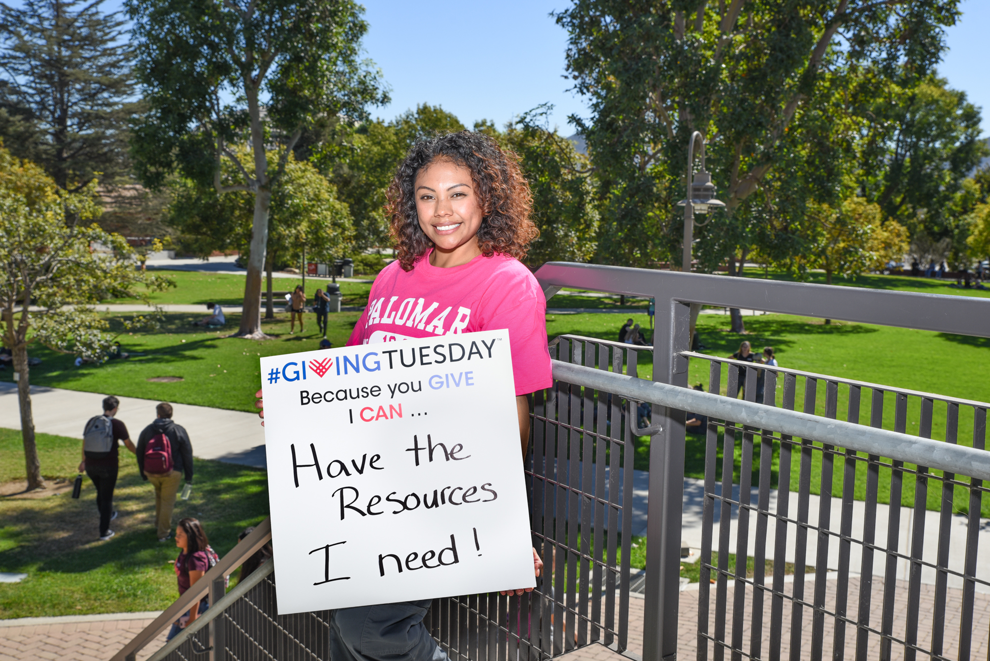 Giving Tuesday at Palomar College Will Raise Two for One This Year